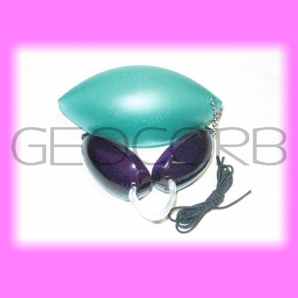 tanning bed eyewear soft podz 1 pair goggles green ebay